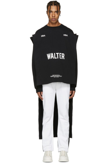 Hood by Air - Black Walter Maxi T-Shirt