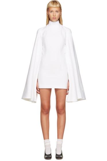 Jacquemus - White Flared Sleeve Dress