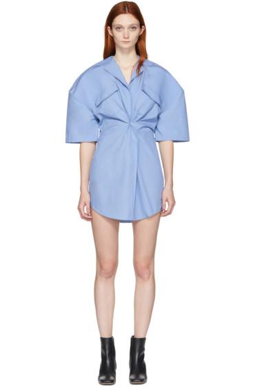 Jacquemus - Blue 'L'Uniform' Shirt Dress