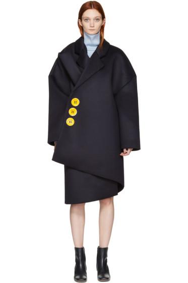 Jacquemus - Navy 'Le Manteau Géant' Coat