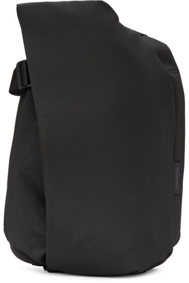 Côte & Ciel - Black Eco Yarn Medium Isar Backpack