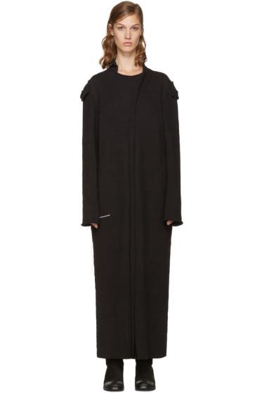 Yohji Yamamoto - Black Long Cardigan