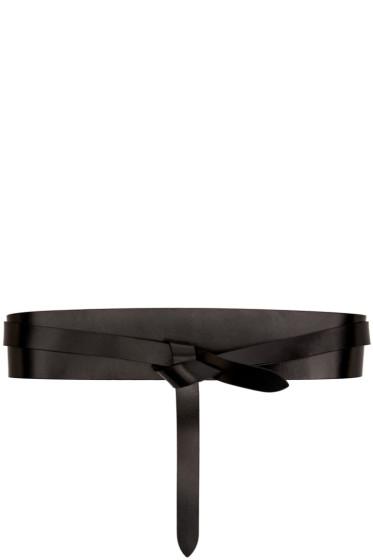 Isabel Marant Etoile - Black Leather Deb Belt