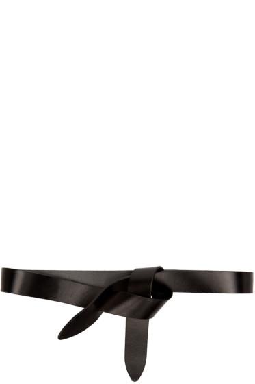 Isabel Marant Etoile - Black Leather Lecce Belt