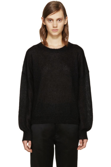 Isabel Marant Etoile - Black Mohair Clifton Sweater