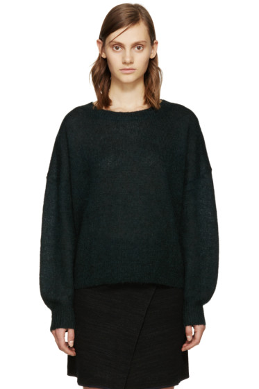 Isabel Marant Etoile - Green Clifton Rainbow Sweater