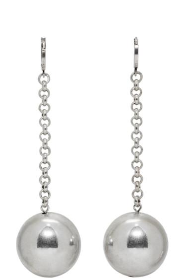 Isabel Marant - Silver Blind Earrings
