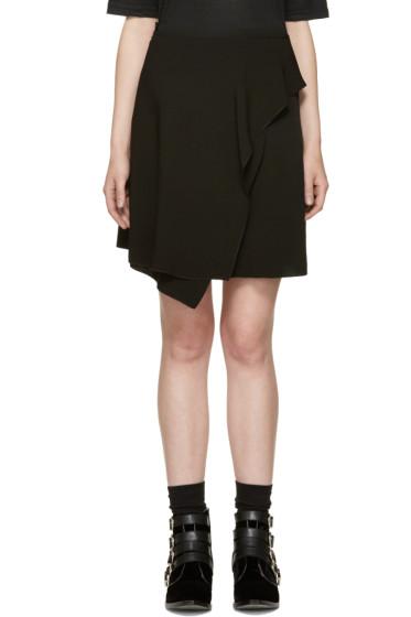 Isabel Marant - Black Ruffled Alize Miniskirt