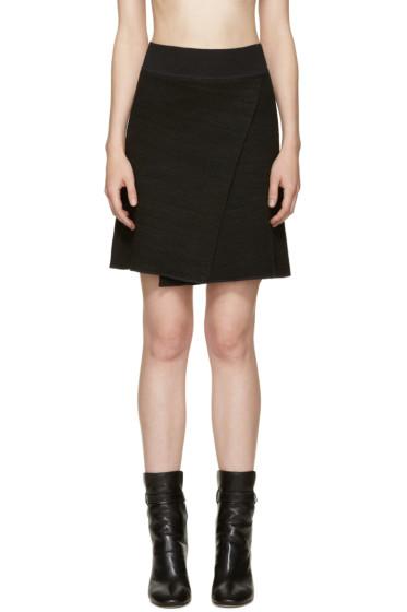 Isabel Marant - Black Knit Cashlin Skirt
