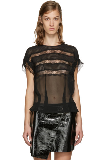 Isabel Marant - Black Spike Blouse
