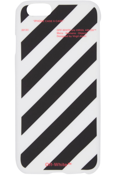 Off-White - White Stripes iPhone 6 Case