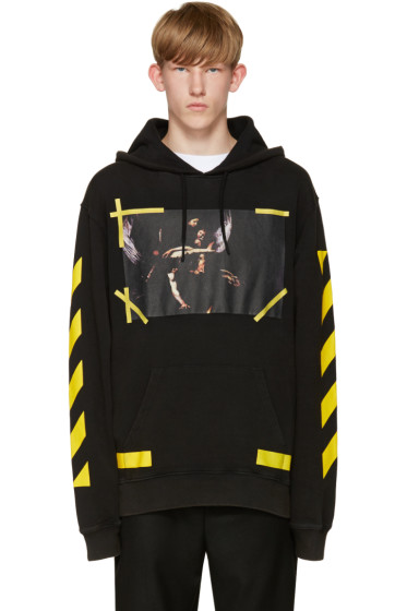 Off-White - Black 7 Opere Hoodie