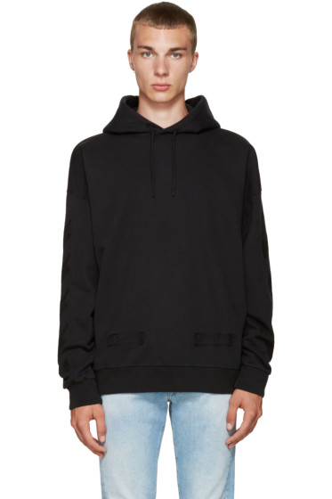 Off-White - Black Cornelly Hoodie