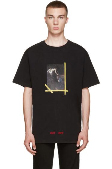 Off-White - Black Annunciazione T-Shirt