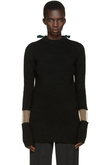 Toga - Black Tie Collar Sweater