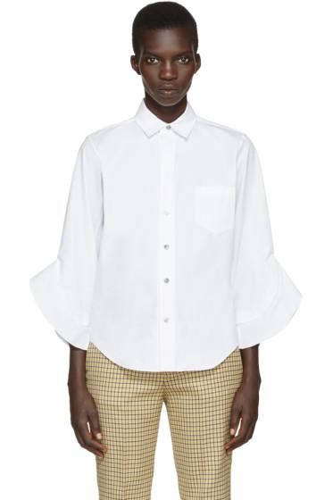 Toga - White Poplin Shirt