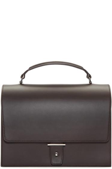 PB 0110 - Brown AB3 Top-Handle Bag