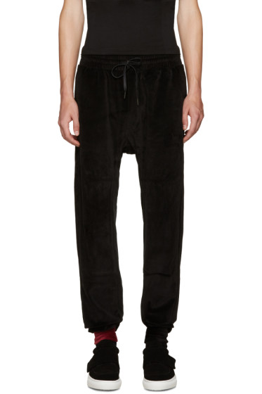 D by D - Black Velvet Lounge Pants