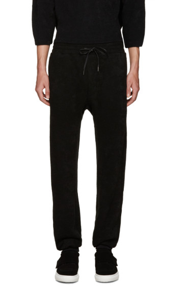 D by D - Black Knit Lounge Pants