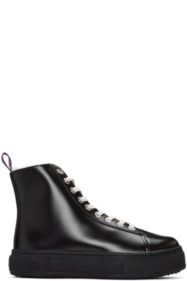 Eytys - Black Kibo Arctic High-Top Sneakers