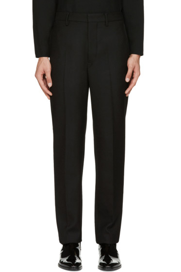 Lemaire - Black Suit Trousers