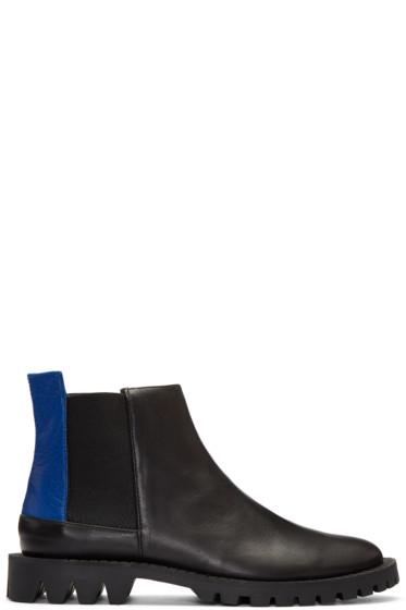 Etudes - Black Canal Chelsea Boots