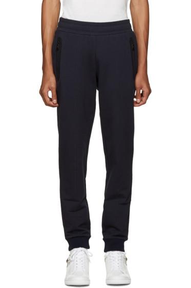 Versace Underwear - Navy Logo Back Lounge Pants