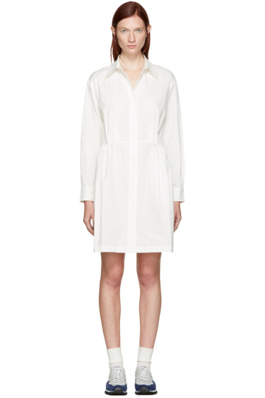 Edit - White Cotton Shirt Dress