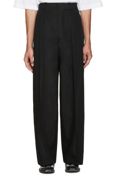 Vetements - Black Oversized Suit Trousers