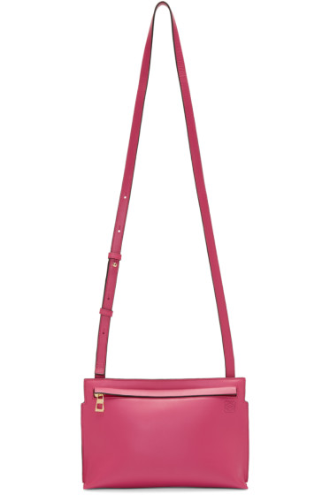 Loewe - Pink Medium T Pouch Bag