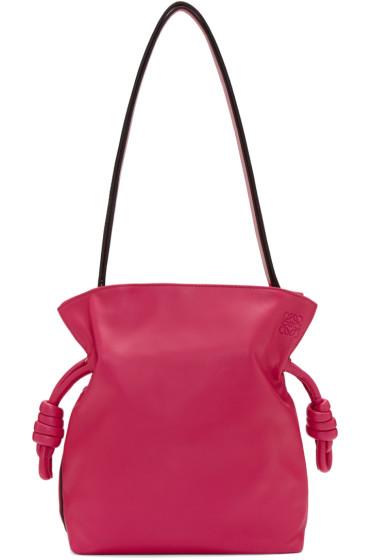 Loewe - Pink Small Flamenco Knot Bag