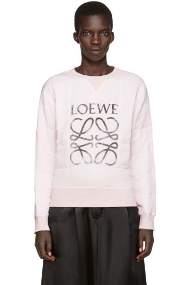Loewe - Pink Anagram Logo Pullover