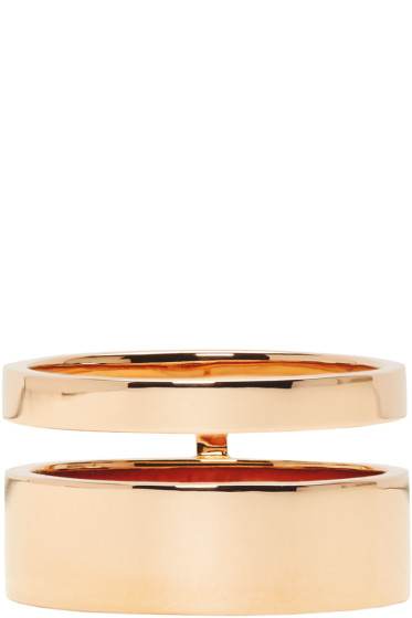 Repossi - Rose Gold Double Band Berbere Ring