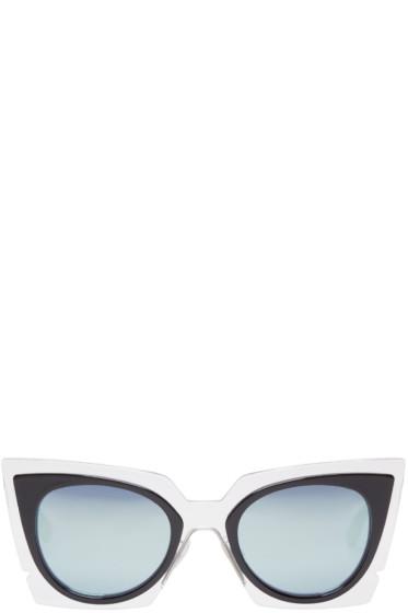 Fendi - Clear Cat-Eye Sunglasses