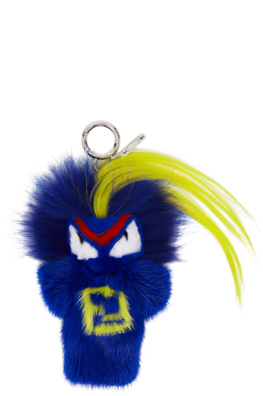 Fendi - Blue Fendirumi Bug-Kun Keychain