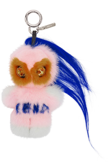 Fendi - Pink Fendirumi Piro-Chan Keychain