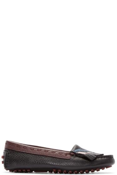 Fendi - Multicolor Bug Eyes Loafers
