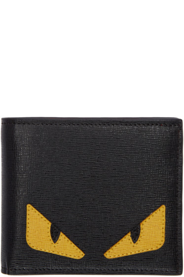 Fendi - Black Bag Bugs Wallet