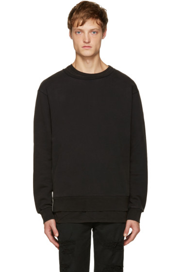 Palm Angels - Black Maxi Puller Pullover