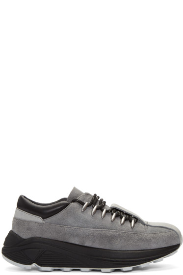 Song for the Mute - Grey Suede Sneakers