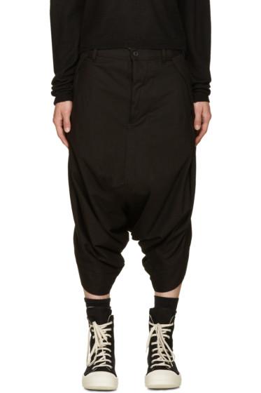 NILøS - Black Short Sarouel Trousers