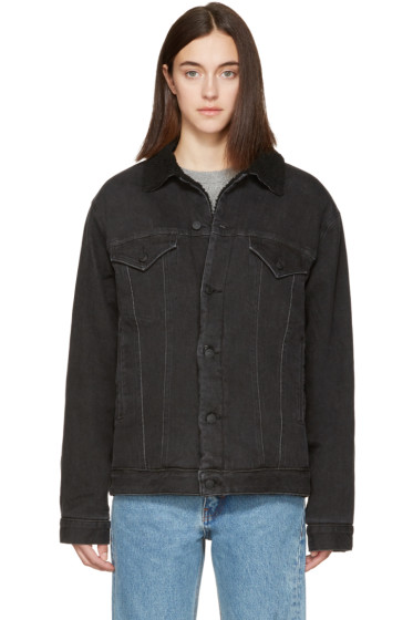 Earnest Sewn - Black Denim Oversized Cecil Jacket