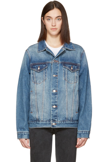 Earnest Sewn - Indigo Denim Oversized Cecil Jacket