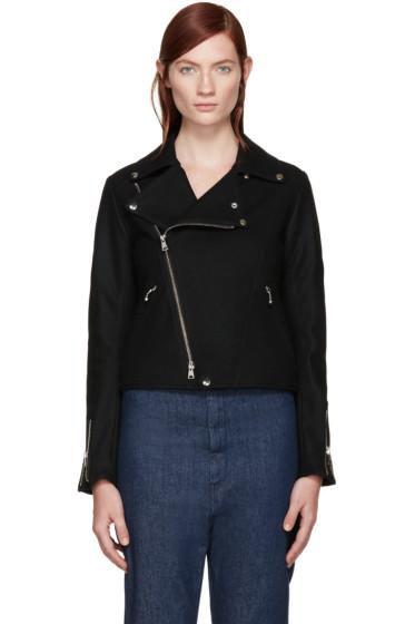 Y's - Black K-Double Jacket
