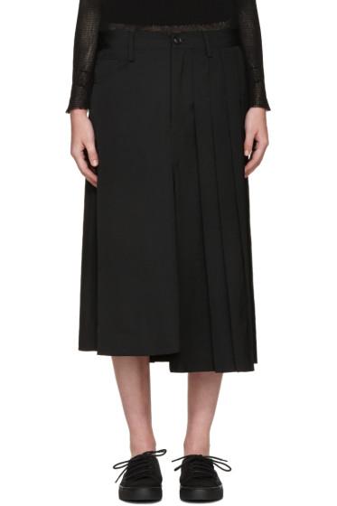 Y's - Black Hybrid Skirt