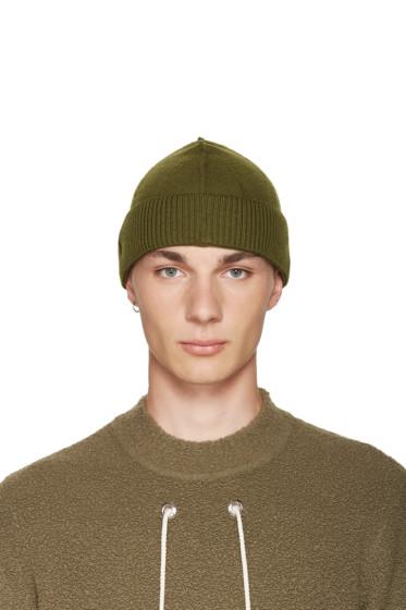 Craig Green - Green Merino Beanie