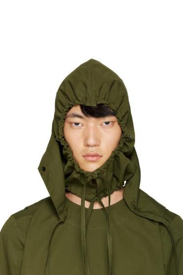 Craig Green - Green Layered Hood