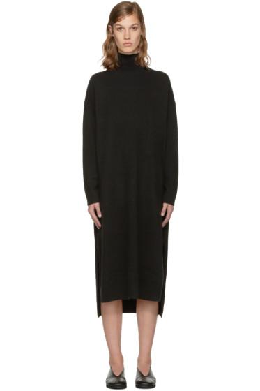 Enfold - Black Turtleneck Dress