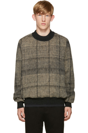 Stephan Schneider - Black & Beige Check Sweater