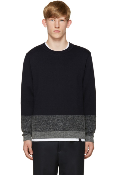 Stephan Schneider - Navy Poplars Sweater